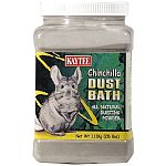 Kaytee Chinchilla Dust Bath is a high quality, all natural dusting powder. It protects the chinchilla's coat by eliminating extra oils and moisture, leaving it healthy and clean.