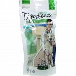 Beefhide chews treated with our unique and innovative 100% natural system for easier-to-digest treat 60% faster digestion than traditional rawhide 99% digestible Scientifically proven Veterinarian recommended, kennel tested and dog approved