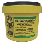 Nu-Hoof Maximizer™ is a scientifically formulated nutritional supplement with 30 mg biotin, folic acid, riboflavin, lysine, methionine copper, iodine, zinc and direct fed microbials.