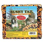 The Pine Tree Farms Bushy Tail Superior Blend Squirrel Cake provides a great source of high energy to your backyard squirrels. Squirrel cakes are a great way to prevent squirrels from stealing seed from your bird feeders.