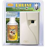Country Vet Equine Flying Insect Control Kit works automatically to kill and repel mosquitoes and other flying insects 24-hours a day, 7 days a week in the barn, stall or stable.