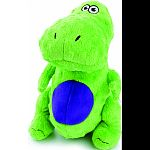 With chew guard technology Fun, brightly colored, durable plush characters are sized specifically for the tiniest breeds who love to chew, cuddle and Squeak