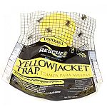 Complete with attractant - just add water and hang. Catches eight yellowjacket species. No killing agents - insects drown. More effective than traps baited with food alone. Non-toxic mode of action against target pests. Disposable.