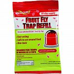 Uses a food-based lure and color proven attractive to fruit flies Includes 30-day supply of attractant Safe around food Non-toxic Made in the usa