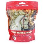 Start to Finish Apple Snacks (formally Buckeye Nutrition) are formulated to be a nutritious treat or snack for horses. Horses love the taste! Can be used as a reward or training aid.  Resealable plastic bag for freshness and convenience.