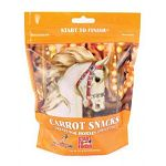 Start to Finish Carrot Crunchers are formulated to be a nutritious treat or snack for horses. Horses love the taste! Can be used as a reward or training aid.  Resealable plastic bag for freshness and convenience.