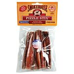 Smokehouse Beef Sticks Dog Treats are made in the USA with the finest cuts of beef that is smoked for up to 53 hours. Beef sticks retain their flavor and joices. Your dog will love this delicious treat! Available in a six pack. Made in the USA.