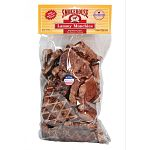 Dogs love these dried lamb lungs. 100% all-natural--it's what dogs eat naturally. A proven taste that dogs love. High in digestible animal protein. Complements lamb-based diets. Low in fat.