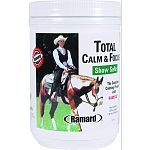 The complete calming product with ramisol Natural formula developed to calm your nervous, anxious horse while enhancing focus Let total calm and focus emliminate your horses stress and discontentment Use for: showing, sales prep, racing, hauling Sugar fre