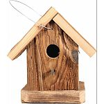 Natural wood birdhouse Made in the usa by skilled craftsman Functional and decorative