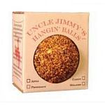 Uncle Jimmy's Hangin Ball treats help to eliminate stall boredom in all classes of horses. This horse treat is great tasting and packed with vitamins and minerals. Available in the following flavors: Apple, Carrot, Molasses, and Peppermint.