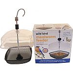 Helps keep mealworms fresh and dry for hungry birds to enjoy Also great for suet pelles & seed Perfect for use with mealworm to go and suet to go