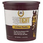Effective 24-hour poultice. One application can take the place of tubbing, icing or hosing. Will not blister or irritate your horses skin. Contains natural clays, glycerine, aloe vera and minerals.