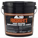 Forshner Hoof Packing - Thick, rich formula. Keeps working until removed. Contains vital oils and other essential ingredients. Helps prevent and treat hardened frogs, contracted heels and hoof dryness. Available 14 lb size.