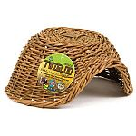 Wholesome chew source for critters that gnaw. Safe for all small pets. Twigloo Hides by Ware Mfg. These hides should keep any rabbit busy for awhile