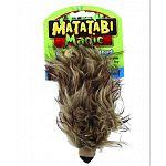 Cats do a dance of joy with the magic matatabi toy Encourages extreme activity and healthy exercise Stimulates feline hunting instincts Perfect size for pouncing playtime Made with a matatabi, a natural attractant