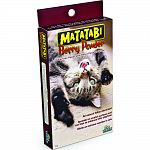 The matatabi plant is an all-natural feline attractant twice as potent as catnip that elicits and extreme reaction in cats A pinch of dried matatabi berry powder brings playtime power for kitties
