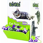 Instinct toys: cat toys created for your cats natural instincts for adventure in chasing, jumping, and pouncing