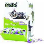 Instinct toys: cat toys created for your cats natural instincts for adventure in chasing, jumping and pouncing