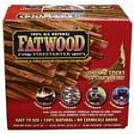 100% all natural pine wood hand split approx 8in length. Fatwood offers a safe, simple, and mess-free way to start any fire and is used in fireplaces, pellet fuel stoves, barbecues. Place two(2) sticks in fire area and light with match.