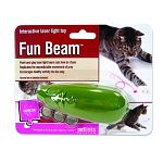 Cats love to chase the point-and-play laser light beam. Replicates the unpredictable movement of prey. Encourages healthy play the fun way. Point the beam near your cat to drive your pet absolutely crazy.
