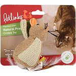 Crinkle sounds and feathers cats can t resist Appeals to cats natural instinct to stalk prey and release their boundless energy Fiberfill made from 100% recycled plastic