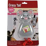String tail spins wildly for carzy fun! Promotes exercise, activity and play Indoor cats with restricted territory to roam, will benefit from regular activity Batteries included