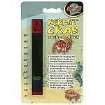 This thermometer will help owners to keep an eye on the temperature of their hermit crabs habitats. Temperature reads in Fahrenheit and Celsius. Be advised if two numbers light up at the same time then the temperature is halfway between those numbers.