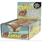 Hermit Crab Soil by Zoo Med is made of all natural compressed coconut fiber substrate, which is known to help raise the humidity in your crab's tank. Your hermit crab will love to dig in and explore. May be used by itself or combined with sand.