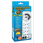 24 hour programmable lighting timer. Provides a natural day and night cycle for your fish. Includes 8 grounded outlets: 4 timer controlled outlets and 4 continuous power outlets. Grounded 3 prong receptacle for safety. Easy-to-program analog design.