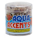 Made from epoxy coated aquarium gravel/sand which is safe for all freshwater and saltwater aquariums. Excellent for fishbowls or nano tanks. Will not cloud water.