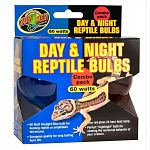 Includes 60 watt daylight blue bulb for heating reptiles or amphibian terrariums and true red glass 24 hour heat lamp. Day bulb is european quality for long lasting burn life. Red lamp is the perfect nightlight bulb for viewing nocturnal behavior of your