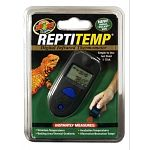 Small pocket-sized infrared thermometer that instantly measures terrarium temperatures with the click of a button. Great for monitoring basking areas, thermal gradients, incubation and hibernation temperatures.