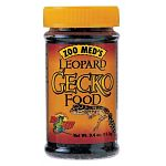 Zoo Med's Leopard Gecko Food (.4 oz) is a natural blend of flavoring agents and small-size flies. The insects used have been raised under laboratory conditions and slowly dried to retain all their natural vitamins and minerals.
