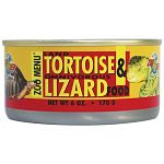 Zoo Med Canned Tortoise & Lizard Food is a complete and balanced diet for land tortoises and omnivorous lizards. Features opuntia cactus which is a favorite of North American desert tortoises.
