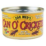 You will be amazed how readily your animals will take tothis food! Adult size crickets. Ideal for most lizards, turtles, fish, birds andsmall animals