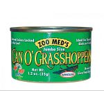 Complete diet for lizards, snakes, amphibians and water turtles. These grasshoppers by Zoo Med are a delicious diet staple for your reptile.