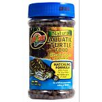 A vitamin-enriched floating pellet food for hatchling aquatic turtles. Like our adult Aquatic Turtle Food above, Zoo Med's Hatchling Aquatic Turtle Food is low protein and it floats! It's great for all types of hatchling aquatic turtles.