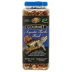 Adds a nice high protein treat to your turtles diet with the addition of dried shrimp and mealworms. Also with added cranberries which are a natural food item of many north american species of aquatic turtles. Scientifically formulated to meet the dietary