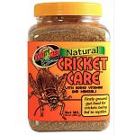 With added vitamins and minerals. Finely ground gut-load for crickets being fed to reptiles.