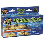 This floating dock is the perfect basking spot for all types of aquatic animals like aquatic turtles, newts, frogs, toads, and crabs. The unique self-leveling feature automatically adjust to all water levels. The hanger attaches to the side of your tank w