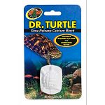 Slow-release calcium block that conditions water while providing a calcium supplement to promote healthy shell growth.