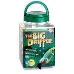 Simulate natural rainfall and provide humidity for captive reptiles.  1 gallon dripper.