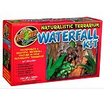 Incorporate a beautiful a waterfall feature in your Naturalistic Terrariums! The new Naturalistic Terrarium Waterfall Kit includes a Water Pump, Hydroballs, Terrarium Mesh, Plastic tubing & Plastic Elbow as well as an instruction booklet with ideas.