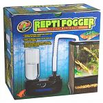 The Repti Fogger Terrararium Humidifier by Zoo Med is great for increasing the humidity in your reptile's tank and is easy to operate. This small sized fogger is adjustible, so you can control the fog output. Comes with a 1 liter bottle and fittings.