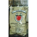 "You can offer ""Applezz N' Oats"" to your horse or pony as a treat to show your affection or as a reward during training. Due to the absence of binders, this clover shaped treat will not always be perfectly shaped."