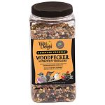 Wild delight advanced formula woodpecker, nuthatch n chickadee food contains real fruits and nuts. A premium wild bird food blended to attract and feed the most desirable outdoor pets. Use with wire mesh feeders, tube feeders (with large holes), platform