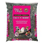 Wild delight advanced formula fruit & berry wild bird food contains added real fruit and berries. A premium wild bird food blended to attract and feed the most desirable outdoor pets. Attracts woodpeckers, jays, cardinals, nuthatches and other fruit-eatin