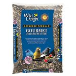 Wild delight advanced formula gourmet outdoor pet food attracts buntings, juncos, doves, jays, grosbeaks and more. A premium wild bird food blended to attract and feed the most desirable outdoor pets. Use with tube feeders (with large holes), hopper feede