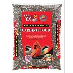 Wild delight advanced formula cardinal food contains real cherries and raisins. A premium wild bird food blended to attract and feed the most desirable outdoor pets. Attracts cardinals, chickadees, nuthatches and other outdoor pets. Use with tube feeders